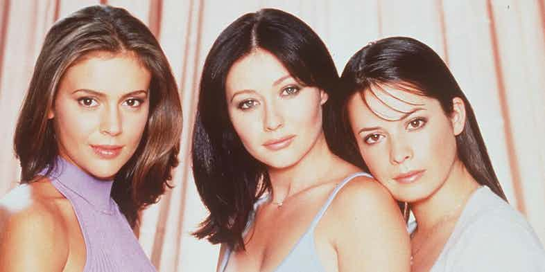 Alyssa Milano, Shannen Doherty and Holly Combs in Charmed