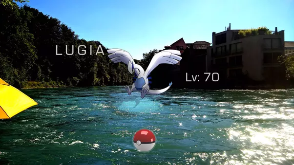 Legendary Pokemon Lugia