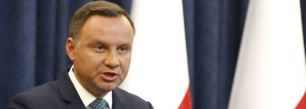 President Duda had already intervened in the constitutional crisis last week