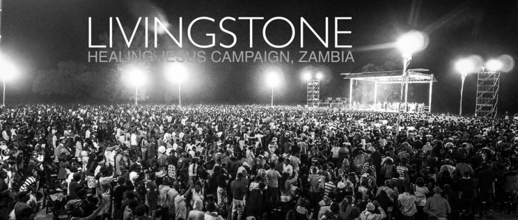 Evangelist Dag Heward Mills and the Healing Jesus Campaign storm the country of Zambia
