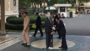 Thai PM leaves cardboard cutout to answer questions