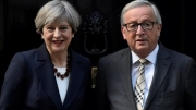 The PM will meet with Jean-Claude Juncker, pictured, as well as Michel Barnier