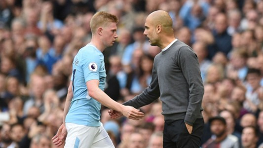 De Bruyne: Man City and Man Utd fighting for title