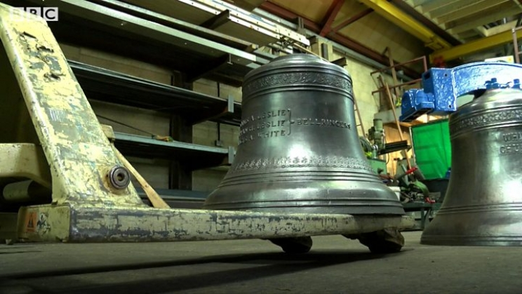 Church bells to sound after 100 years
