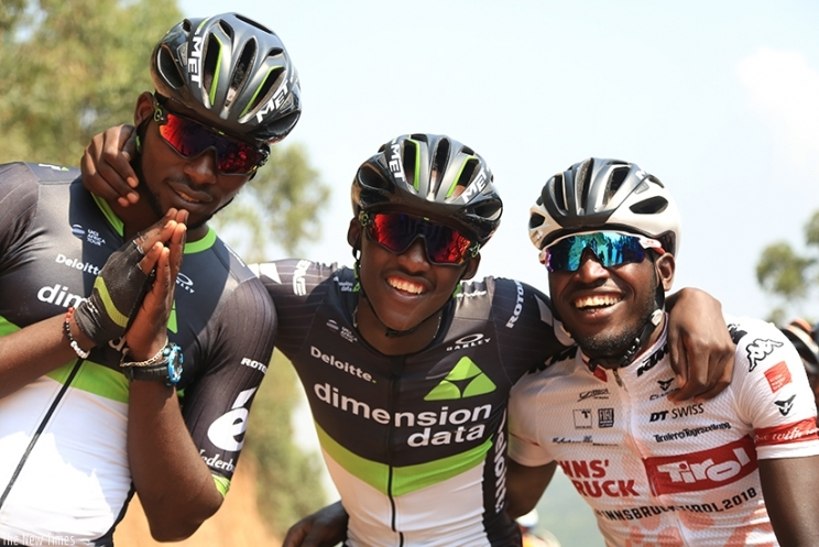Five cyclists off to Rwanda for Africa Cycling Championship