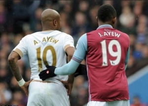 Andre and Jordan Ayew have a tough mountain to climb for their clubs are to survive this season