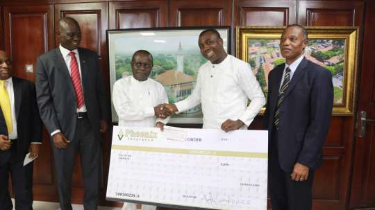 Phoenix Insurance boosts University Endowment Fund with GH¢ 250,000.00