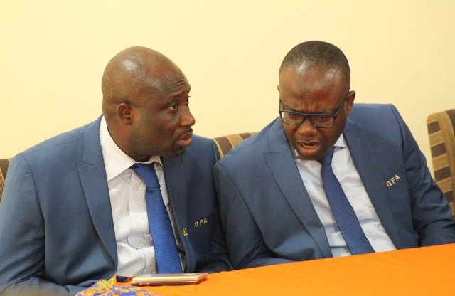 Parliament to resolve rift between GFA President and Vice