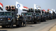 Baghdad said it was carrying out a major operation to take control of bases and oil fields