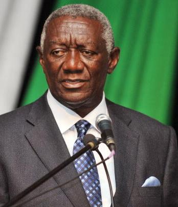 Former President Kufuor gives thumps up to government