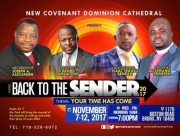 Apostle Dr. Bempah and Prophet Akwasi coming to New York for a 5-day service