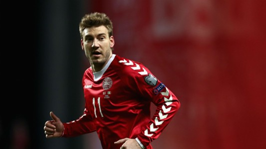 """It wasn't an exciting match"" - Bendtner hoping Denmark can improve"