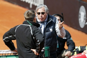 Ilie Nastase: Romania's Fed Cup captain banned by ITF after Fed Cup row