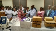Agrimat Limited donates medical equipment to Tafo Government Hospital