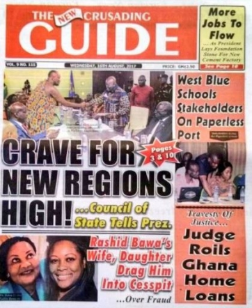 Crusading Guide 16th August