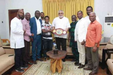 Stay hungry all the time - Rawlings urges Dogboe