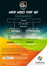 The Ghana League Clubs Association (GHALCA) releases Officials for G-8 semi finals
