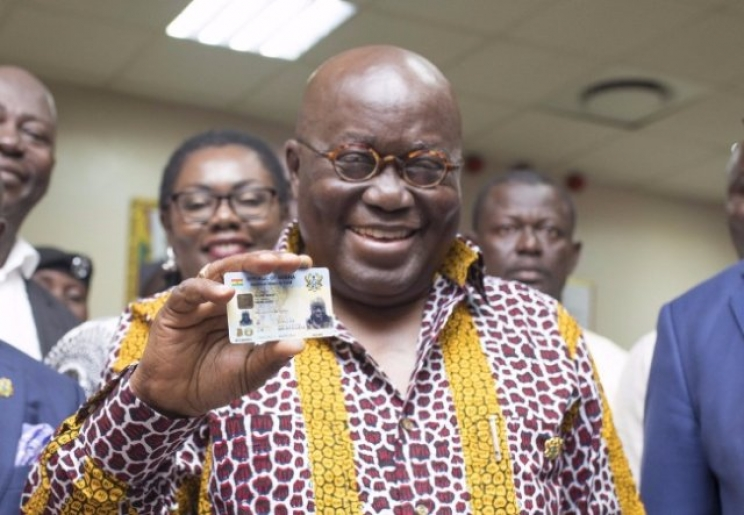 End to multiple ID cards; GhanaCard to be the only valid form of identification