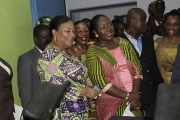 First Lady expresses interest to improve the health sector