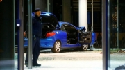 SPD crash: Car rammed into German political party's HQ
