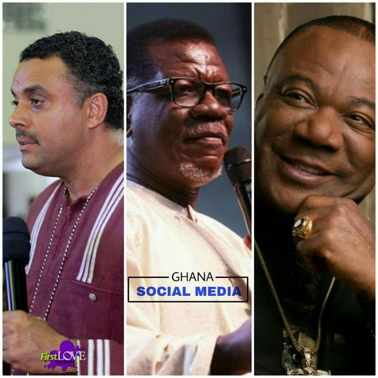 Bishop Dag Heward-Mills, Pastor Mensa Otabil & Archbishop Nicholas Duncan-Williams